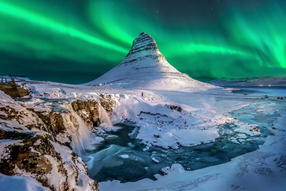 The best time of year to see the Northern Lights in Iceland