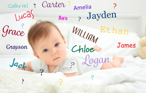 The Most Popular Baby Name Predictions for 2018